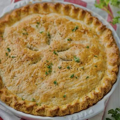 Free Range Satay Chicken Pie (serves 4)