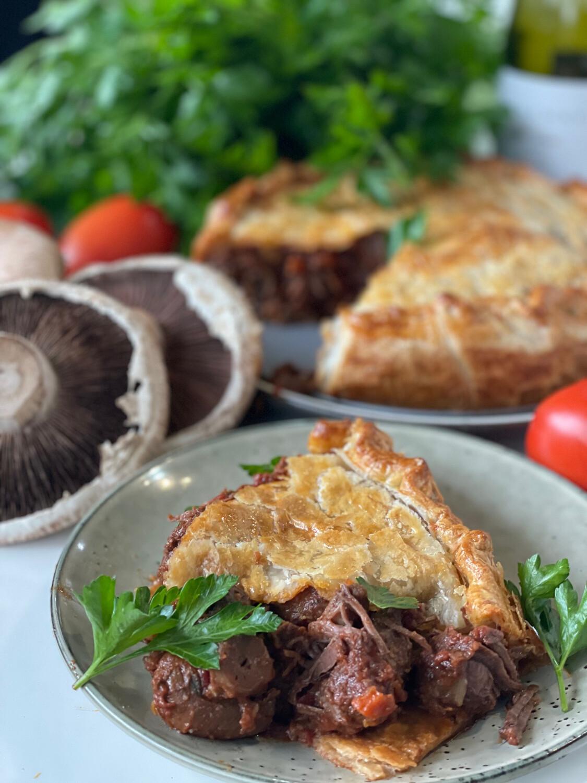 Beef Burgundy Pie