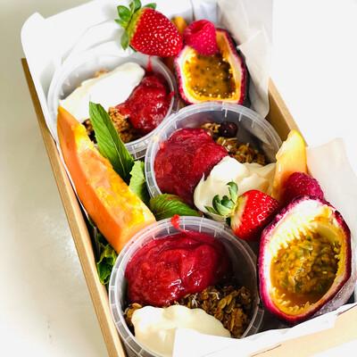 Granola Fruit Box