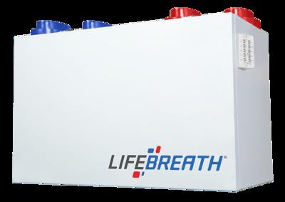 Lifebreath RNC205 à récupération de chaleur (175 cfm)