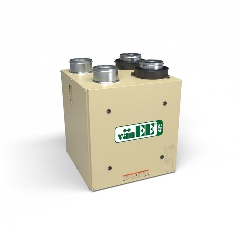 Vanee ERV 40E à récupération d'énergie (70 cfm)