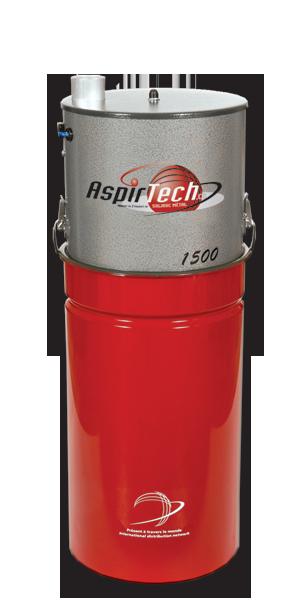 Aspirtech, Model 1500 garantie 10 ans et 600 Airwatts