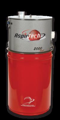 Aspirtech Model 2000, double moteurs, 700 Airwatts