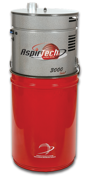 Aspirtech Model 3000, double moteurs, 700 Airwatts
