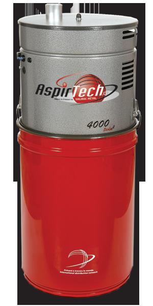 Aspirtech Model 4000, double moteurs, 1000 Airwatts