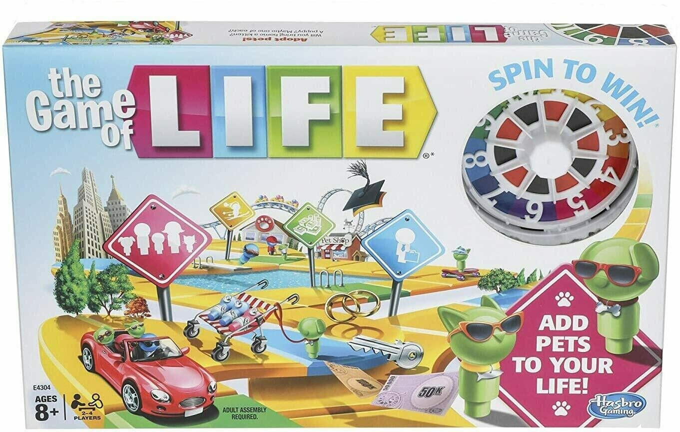 Game of Life Game Board Game