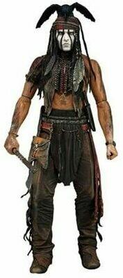 "Neca The Lone Ranger - Series 1 - Tonto 1/4 Scale 18"" Action Figure"