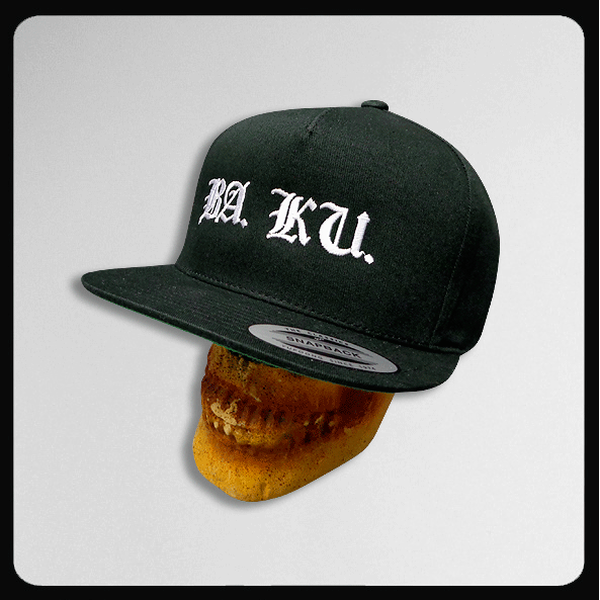 Skull Skates BA. KU. Yupoong Classics Cotton Snapback Cap