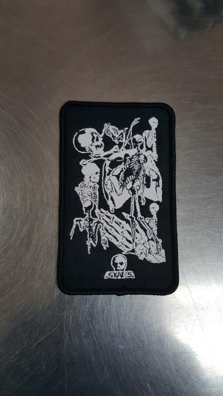 "Skull Skates Patch Boneyard 2.25"""