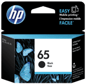 HP 65 Black Original Ink Cartridge - Black