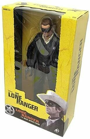 The Lone Ranger 1:4 Scale Action Figure Lone Ranger