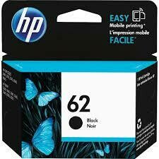 HP 62 Black Original Ink Cartridge - Black