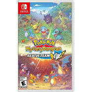 Swtich Pokemon Mystery Dungeon Resue Team DX