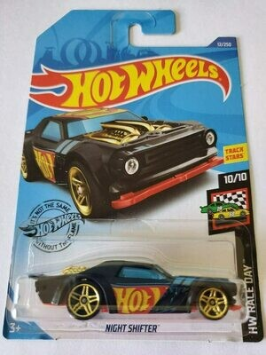 Hot Wheels Hw Race Day Night Shifter, 12/250 Black