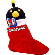 Angry Birds Christmas Plush Stocking