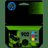 HP 902 Original Ink Cartridges - CMY