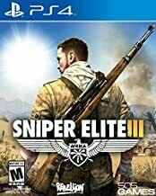 PS4 Sniper Elite III  (used game)