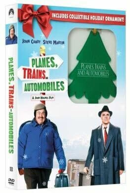 Planes, Trains, and Automobiles (DVD) + Holiday Ornament (New)