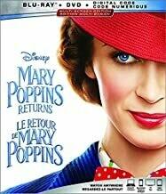 Mary Poppins Returns (Bluray) (New)