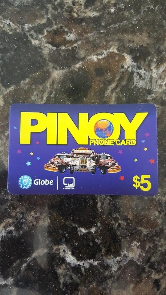 Pinoy Calling Card ($5.00)