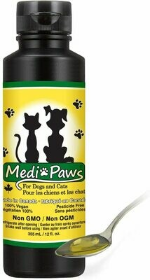 Medi-Paws Pure Hemp Oil with Nutritional Yeast for Dogs and Cats