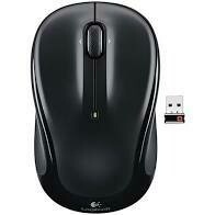 Logitech M325 Wireless Mouse - Black