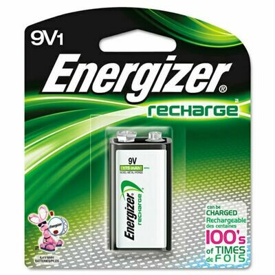 Energizer 9V Rechargeable Battery ( 1 Pack)