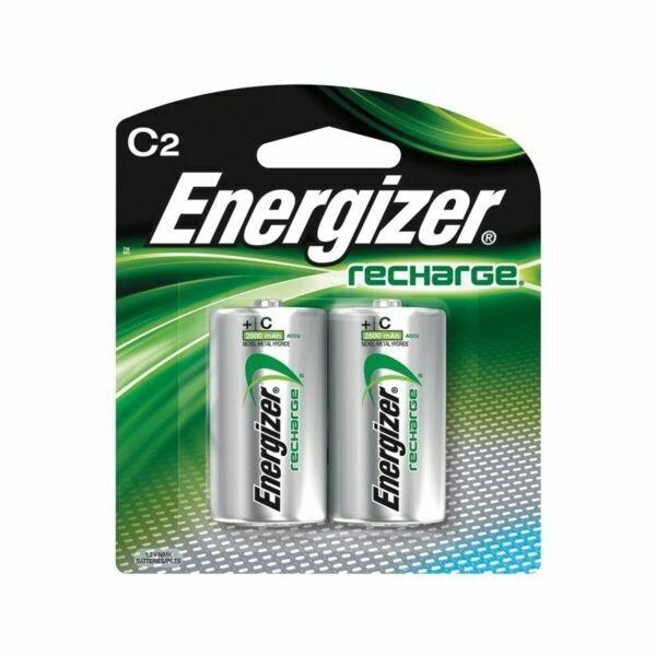 Energizer C Batteries (Rechargeable) ( 2 Pack)
