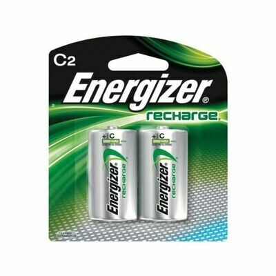 Energizer C Batteries (Rechargeable) ( 2 Pack)