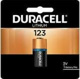 Duracell Ultra Lithium 123 Battery  (1 Pack)