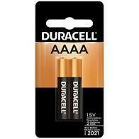 Duracell Ultra Photo Alkaline AAAA Batteries (2 Pack)