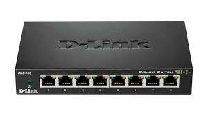 D-Link DGS-108 8 Port Gigabit Desktop Ethernet Switch