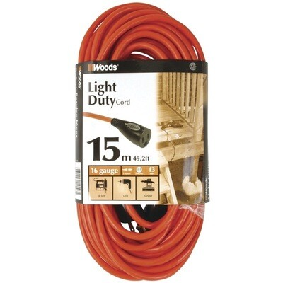 Outdoor Extension Cord (15m) (49.2ft)