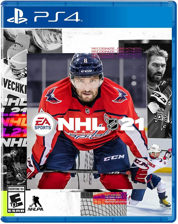 PS4 NHL 21 (New)