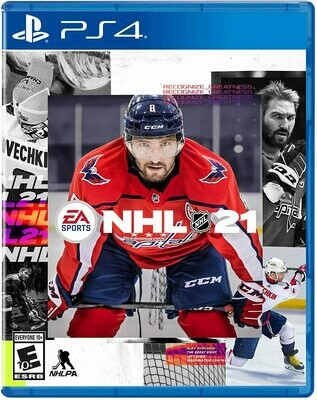 PS4 NHL 21 (New)
