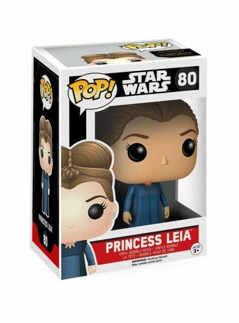 Funko Pop! Star Wars #80 - Princess Leia Vinyl Bobble-Head Figure