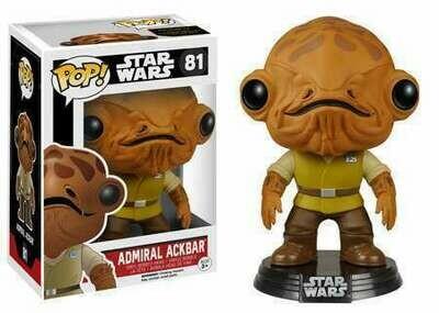 The Force Awakens POP! Star Wars Admiral Ackbar Vinyl Bobble Head #81