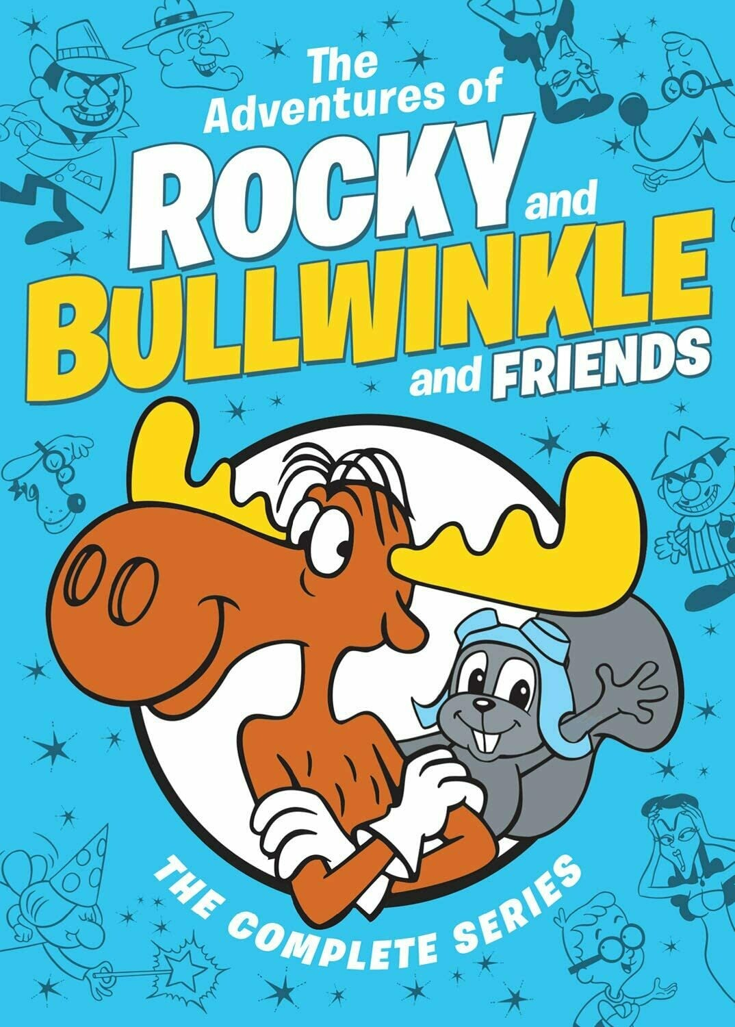 The Adventures of Rocky and Bullwinkle and Friends: The Complete Series (7 day rental)