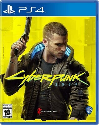 PS4 Cyberpunk 2077 (New)