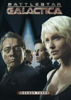 Battlestar Galactica Season Three (7 day rental)