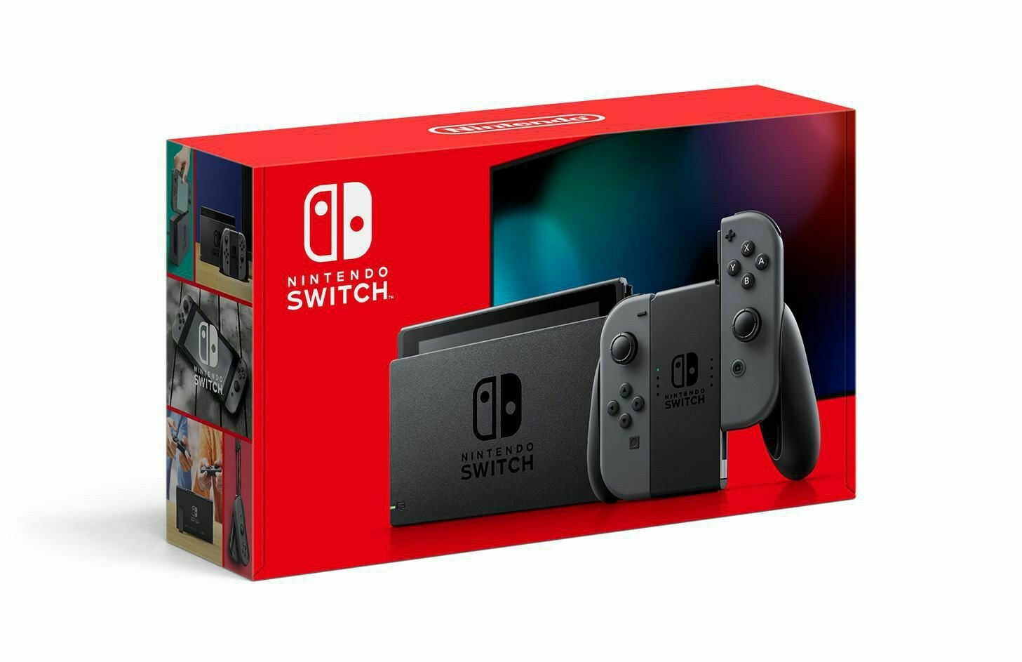 Nintendo Switch™ 1.1 32GB Console with Grey Joy‑Con