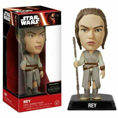 Star Wars Force Awakens Wacky Wobbler Rey Bobble Head Figure NEW Toys Funko