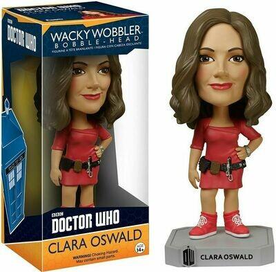 Funko Doctor Who Wacky Wobbler Clara Oswald Bobble Head