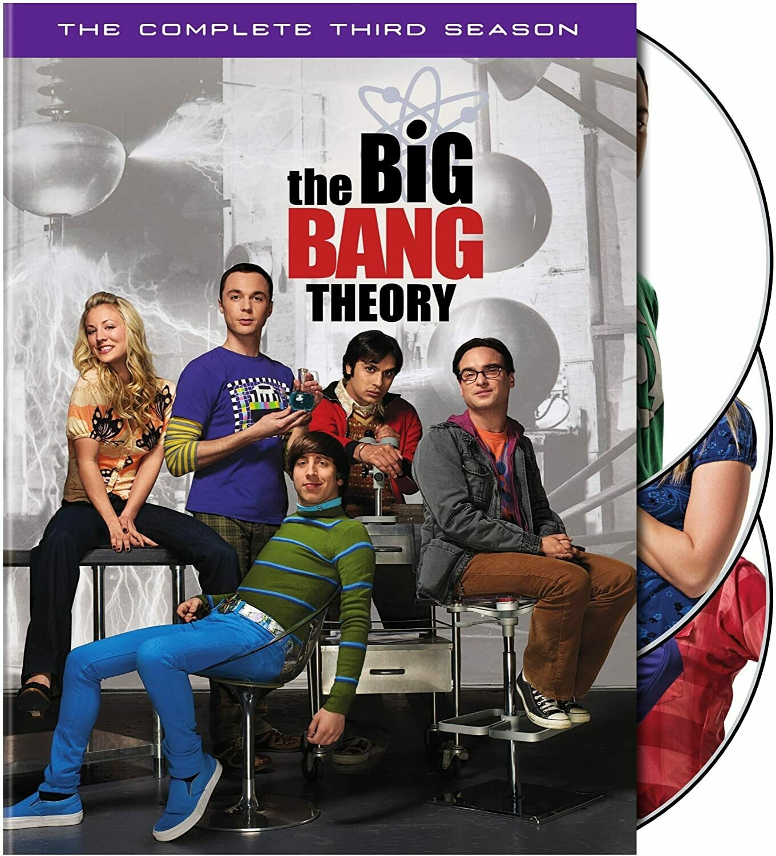 Big Bang Theory Season Three (7 day rental)