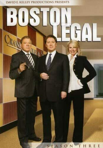 Boston Legal Season Three (7 day rental)