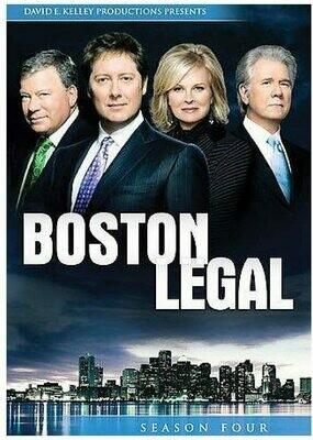 Boston Legal Season Four (7 day rental)