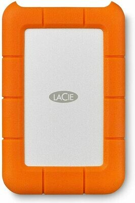 LaCie STFR2000800 Rugged 2TB USB-C™ External Mobile Hard Drive