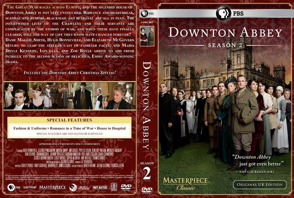 Downton Abbey Season Two (7 day rental)