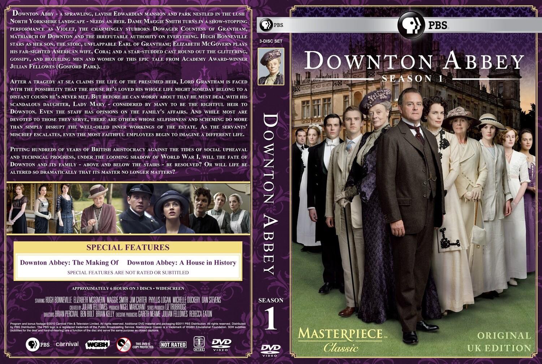 Downton Abbey Season One (7 day rental)