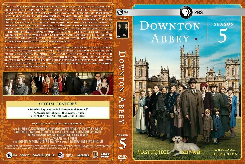 Downton Abbey Season Five (7 day rental)
